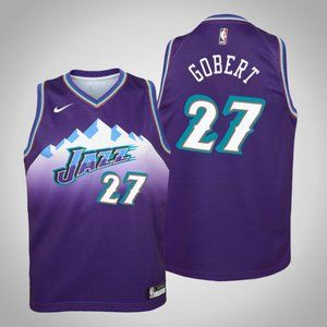 Women Utah Jazz Rudy Gobert Jersey